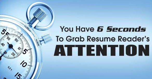 Grab Resume Reader's Attention
