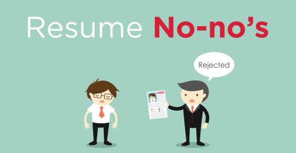 Resume No-no's