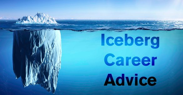 Iceberg Career Advice - Motivation Monday
