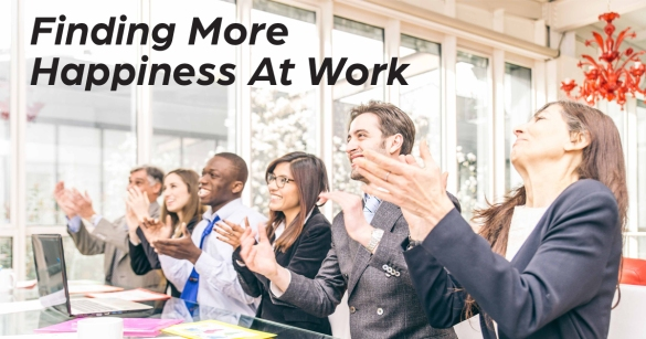 Finding More Happiness At Work