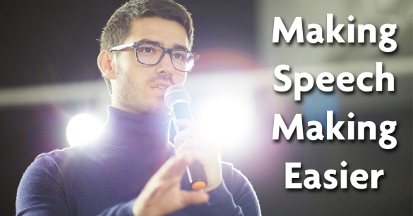 Making Speech Making Easier
