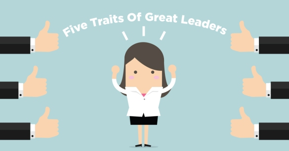 Five Traits Of Great Leaders