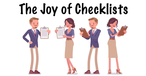 The Joy of Checklists