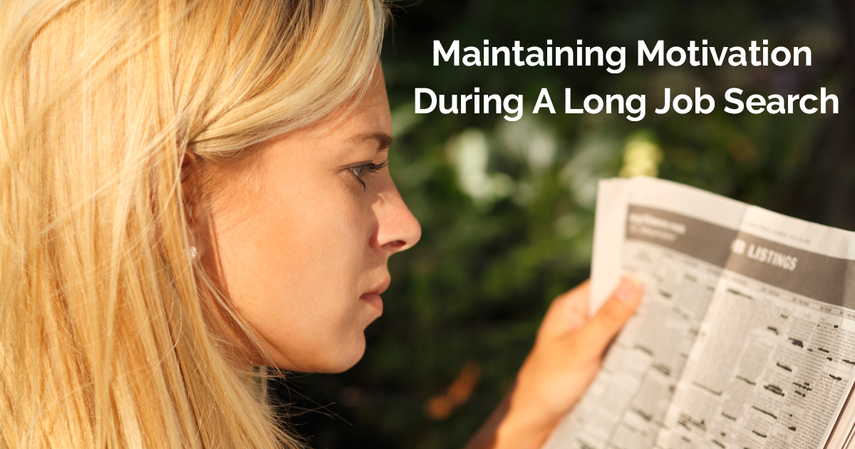 Maintaining Motivation During A Long Job Searchacebook