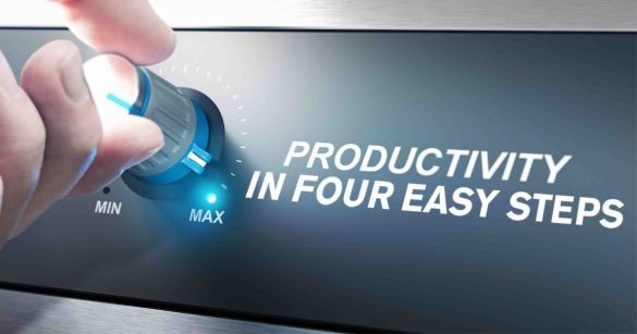 Productivity In Four Easy Steps