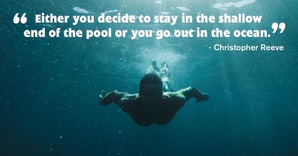 Where Do You Choose To Swim?