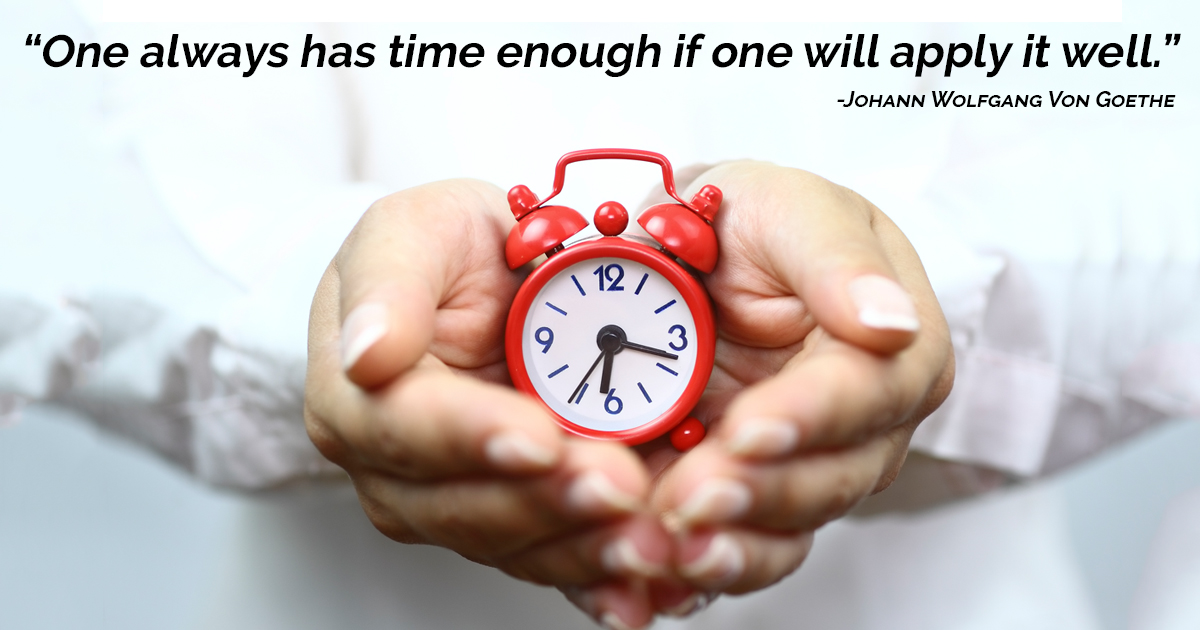 Time Is Not As Concrete A Thing As We Like To Think It Is